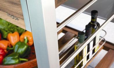indu+tomboy - cuine portative de jardin
