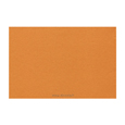 nappe orange jetable