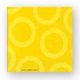 serviette appier jaune