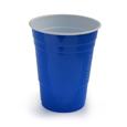 gobelet jetable bleu
