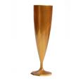 flute champagne plastique or