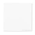 serviette aspect tissu blanche