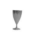 verre a vin plastique gris