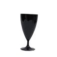 verre a vin plastique noir