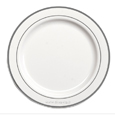 assiette jetable chic