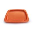 assiette carré couleur