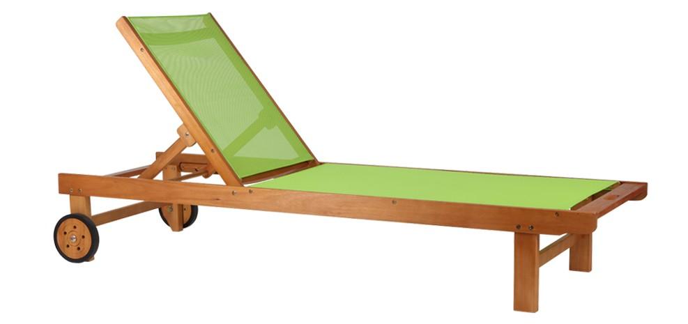 Mobilier de jardin design pour l t blog de la table for Transat de jardin en bois