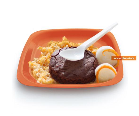 assiette plastique couleur