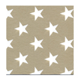 serviette aspect tissu stars