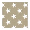 serviette aspect tissu stars