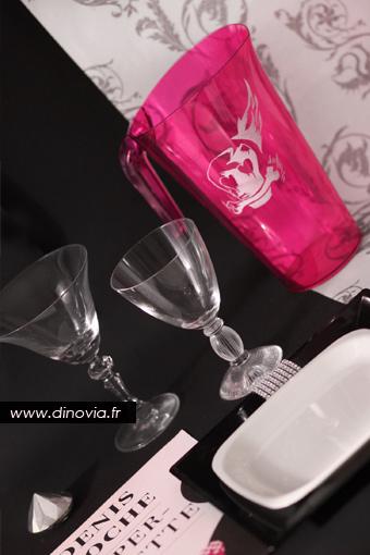 carafe rose