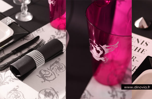 Une d coration de table punk rock glamour blog de la - Art de la table decoration ...