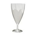 verre a pied blanc