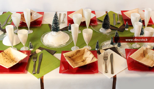 Blog de la table recettes art de la table vaisselle - Decoration de noel traditionnel ...