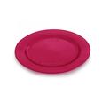 assiette jetable couleurs