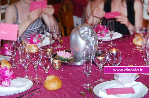 décoration de table ados