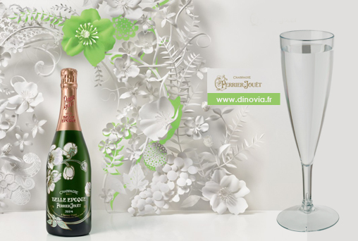 flute champagne jetable