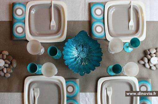 Bleu blog de la table recettes art de la table - Art de la table decoration ...