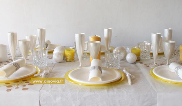 Art de la table jetable